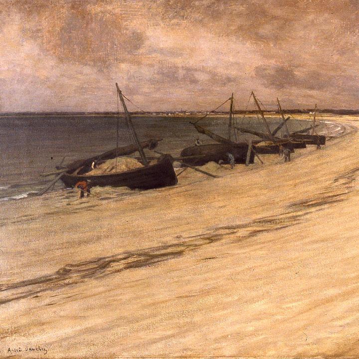 433 André Dauchez Les bateaux de sable