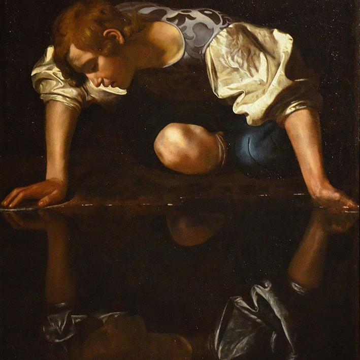 800px-Narcissus_by_Caravaggio,_1597–1599,_Galleria_Nazionale_d'Arte_Antica_(21836123485)