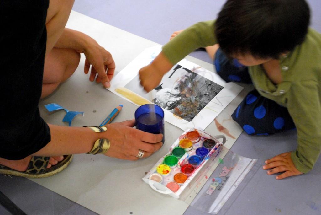 Atelier avec les tout petits au musée