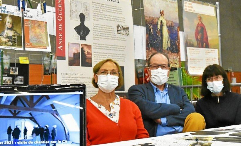 Les Amis du Musée étaient présents sur le forum. Alain Meudic, président a informé le public sur l'avancée des travaux. Il sera prochainement en mesure de donner quelques nouvelles plus précises. Avec les membres de l'association ils ont informé le public des collections existantes.